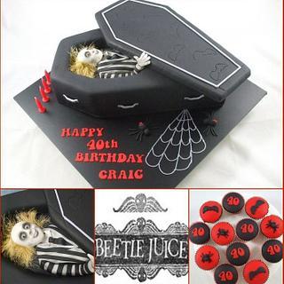 Beetlejuice - Cake by Kake Krumbs