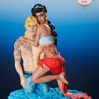 Disney's Jasmin and John Smith