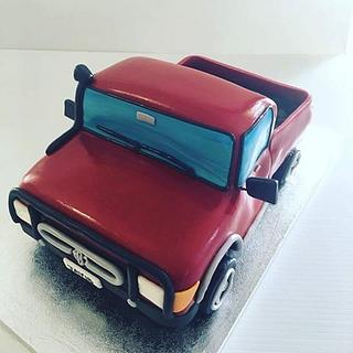 Toyota Ute Car Cake - Cake by Creative Cakes - Deborah Feltham