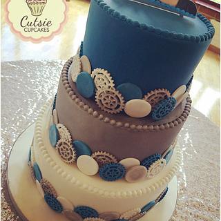 Mechanics Wedding Cake ⚙️