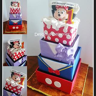 Mickey Mouse Clubhouse Inspired Giftboxes