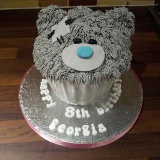 me to you bear giant cupcake