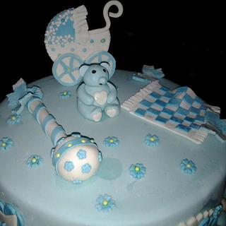 Yummy Newborn's Cake