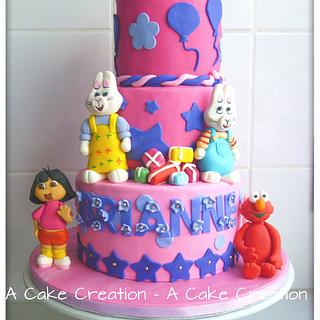 Brianne's character cake - Cake by A Cake Creation
