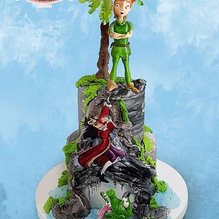 Petar Pan cake