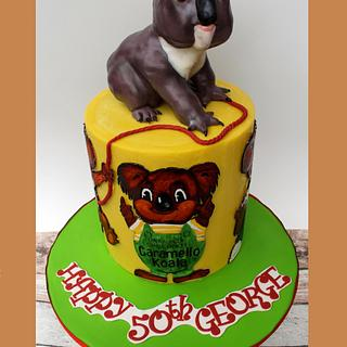 Aussie Takes the Cake - Caramello Koala is 50!!!!