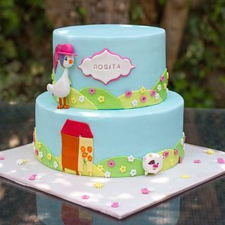 Gallina Josefina Cake