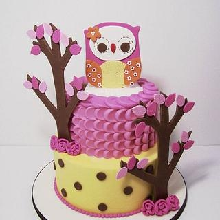 In the Woods Owl Baby Shower