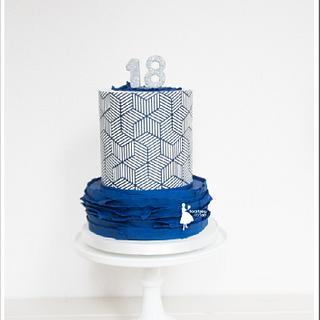 Sweet 18 boy - Cake by Taartjes van An (Anneke)