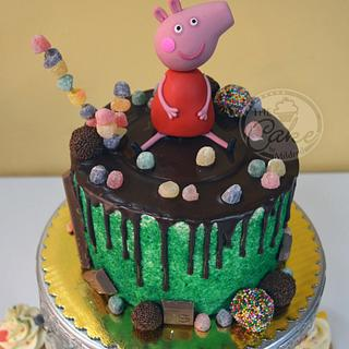 Peppa - Cake by TheCake by Mildred