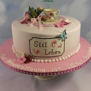 Tea Time - Cake by Sandy's Cakes - Torten mit Flair