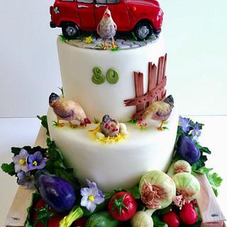 R4 cake  - Cake by Loredana Atzei