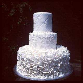 Team J Wedding Cake - Cake by Sarah Ono Jones