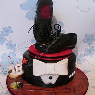 David's 18th 'Ballroom' Inspired Cake.