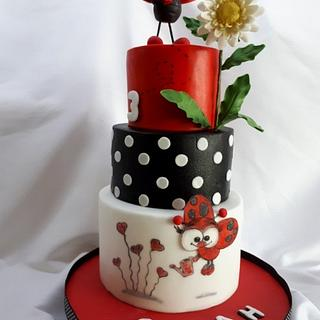 birthday with ladybird