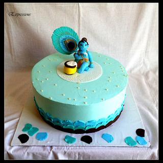 My Krishna Cake - An Expression!
