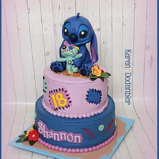 Stitch - Cake by Karen Dodenbier