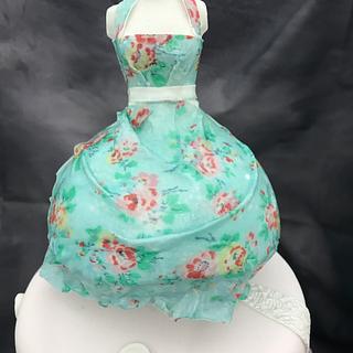 Dressmakers cake