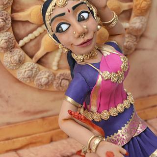 The Bharatanatyam Dancer  - Cake by Sahar Latheef