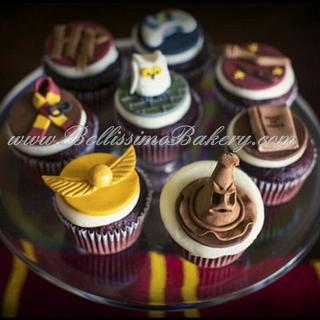 Fun Harry Potter Cupcakes