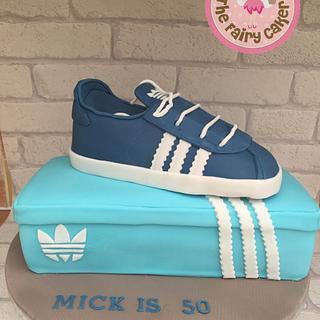 Adidas trainer cake