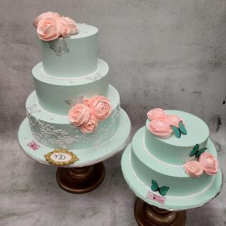 Elegance  - Cake by Michelle's Sweet Temptation