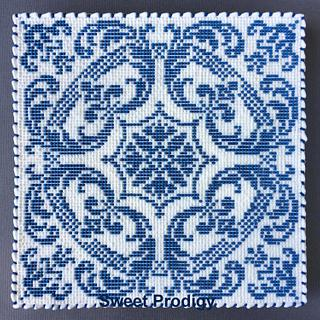 Blue and White Tile | Sweet Prodigy