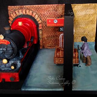 Platform 9 3/4! Harry Potter and the Philosopher's Stone