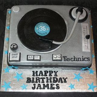 technics turntable cake