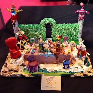 tea party in wonderland - Cake by Pamela Iacobellis