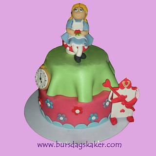 Alice in Wonderland - Cake by Janne