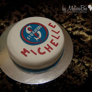 Western Cape STORMERS - Cake by Melissa Marthe