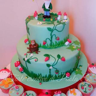 Gnome cake  (Torta gnomo nel bosco ) - Cake by Paola Esposito