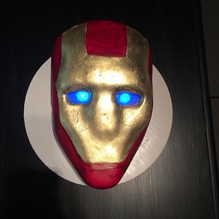 Iron Man cake - Cake by Mycakecorner