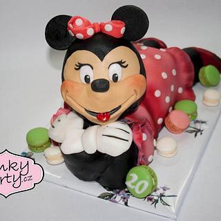 Minnie cake 3D
