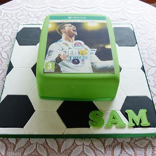 XBox FIFA18 cake