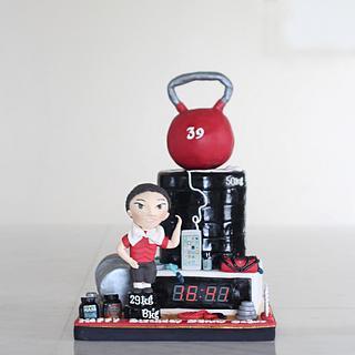 Gym freaks! - Cake by Bakeagogo by Marsella Agatha