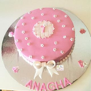 Pink cake - Cake by morningglorycakes