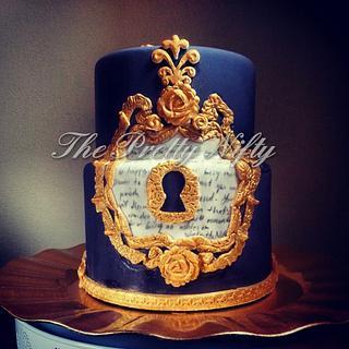 The keyhole cake