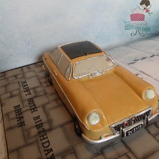 1972 MG BGT Car Cake
