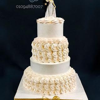 wedding cake - Cake by Babelward