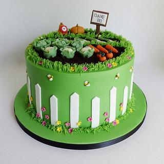 Allotment gardening cake - Cake by Angel Cake Design
