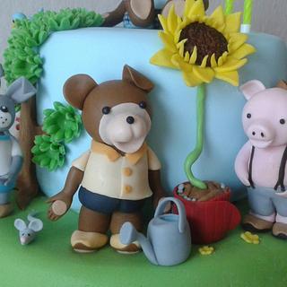 teddybear and friends