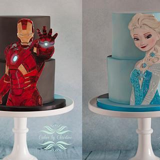 Frozen meets Ironman!
