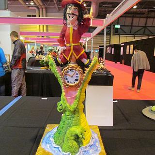 Captain Hook and The Crocodile- Cake International 2014