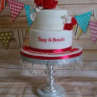 Red Roses for a Ruby Anniversary - Cake by MySugarFairyCakes