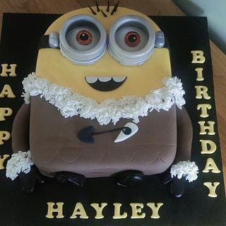 Minion Cake - Cake by Cutabovecakes