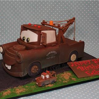 Tow Mater Cake - Cake by CakeAvenue