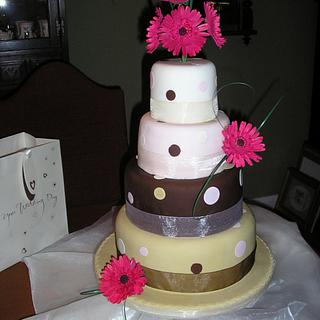 Spots ! Wedding cake