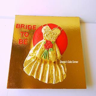 Bridal Shower Cake  - Cake by Shorna's Cake Corner